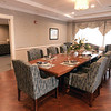 BRYAN EATON/Staff photo. A formal side dining room is available to residents and their families for special gatherings.
