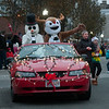 JIM VAIKNORAS/Staff photo Rudolph and Frosty ride in Holiday Style during the Amesbury Santa Parade and Tree Lighting in Market Square Saturday.