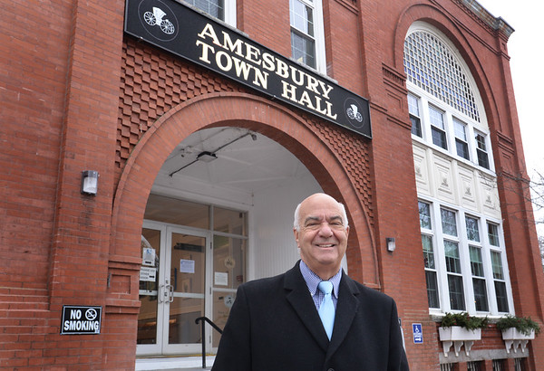 BRYAN EATON/Staff Photo. Amesbury Mayor Ken Gray will be leaving office in January after holding the position for six years.
