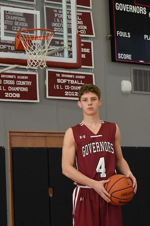 BRYAN EATON/Staff Photo. Newburyport's Will Batchelder plays for the Governor's Academy.