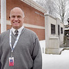 BRYAN EATON/Staff Photo. Amesbury Middle School Principal Mike Curry is retiring after 35 in the education field.