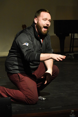 "BRYAN EATON/Staff photo.  James Turner III in ""The Last Five Years"" production at the Firehouse Center."
