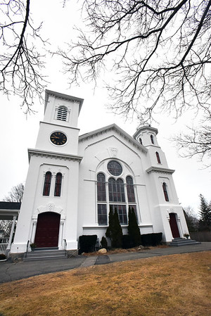 BRYAN EATON/Staff photo. Newburyport's Belleville Congregational Church.