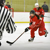 BRYAN EATON/Staff photo. Masconomet forward Samantha Kelleher takes the puck into Methuen ice.