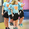 BRYAN EATON/Staff photo. Students from Londonderry Elementary School in New Hampshire have a jump rope team named the Hip Hoppin' Hawks that perform and spread the positive health message about fitness and nutrition. They were at Amesbury's Cashman School to get excited about their upcoming Jump For Heart Event spearheaded by physical education teacher Ted Flaherty. They have raised thousands of dollars for the American Heart Association through the years from that event.