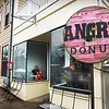 BRYAN EATON/Staff photo. The Angry Donut opened on Thursday at 38 Washington Street in Newburyport, not far from Andiamo.