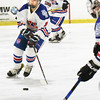 BRYAN EATON/Staff photo. Methuen's Kelly Golini moves down the ice.