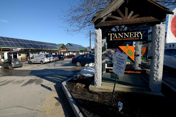 JIM VAIKNORAS/Staff photo The Tannery in Newburyport, scene of an armed robbery Sunday night.