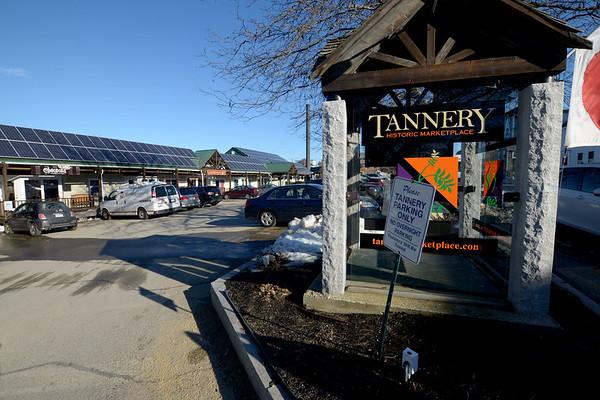 JIM VAIKNORAS/Staff photo The Tannery in Newburyport, scene of an armed robbery Sunday night.