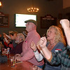 JIM VAIKNORAS/Staff photo Fans react to a Patriots play at the bar at Port Tavern in Newburyport Sunday night.