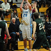 JIM VAIKNORAS/Staff photo Triton's William Parsons shots a jumper against Pentucket at Triton Friday night.