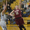 JIM VAIKNORAS/Staff photo Newburyport's Krysta Padellaro lays the ball in against Triton at Triton Friday night.