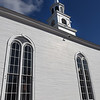 BRYAN EATON/Staff Photo. Amesbury's Main Street Congregational Church.
