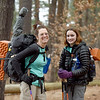 BRYAN EATON/Staff Photo. Briana Sullivan, left, and daughter Cambyr, 13, of Amesbury are heading to Springer Mountain in Georgia next week to start hiking the Appalachian Trail.