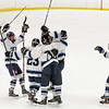 BRYAN EATON/Staff photo. Triton celebrates their first goal of the game with Wilmington.