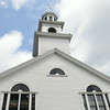 JIM VAIKNORAS/Staff photo The Union Congregational Church on Point Shore in Amesbury.