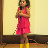"BRYAN EATON/Staff Photo. Camila Fuentes, 4, of Newburyport sings ""Call Me Maybe"" at the Yankee Homecoming Kids Talent Showcase which was held at the Masonic Lodge due to rain earlier in the day."
