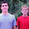 BRYAN EATON/ Staff Photo. Ben Ventura, left, and Jake Harlow.
