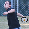 BRYAN EATON/Staff photo. Jake Boland competes in the discus.