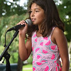 "BRYAN EATON/Staff photo. Olivia Cartagena, 8, whose family just moved to Hudson, N.H. from Newburyport performs the song ""Havana."""