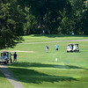BRYAN EATON/Staff photo. The weather was perfect for the Yankee Homecoming Golf Tournament at Ould Newbury Country Club.