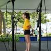 "BRYAN EATON/Staff photo. Soloist Ally Gillis, 10, of Newburyport sings ""Lost Boy."""