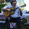 JIM VAIKNORAS/Staff photo John Tavano performs at the annual Tea at the Whittier Home and Museum in Amesbury Saturday .