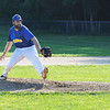 TIM JEAN/Staff photo<br /> <br /> Jake Barresi throws a pitch for the Rowley Rams baseball team.    7/11/18