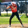 JIM VAIKNORAS/staff photo  Amesbury's  Maddie Napoli at the plate