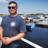 BRYAN EATON/Staff photo. Mike Goodridge, left, who owns TowboatUS and manages Freedom Boat, and his son, Jake, have bought Yankee Landing Marina on Merrimac Street in Newburyport.
