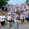BRYAN EATON/Staff photo. The Derek Hines 5K Roadrace leaves Cashman Park.