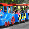 BRYAN EATON/Staff photo. The Roaming Railrad Train is always a hit with the youngsters at Kids Day in the Park.