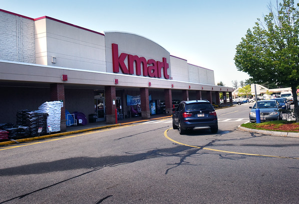 BRYAN EATON/Staff photo. The Kmart that has been an anchor at the Port Plaza in Newburyport for many, many decades is closing in September.