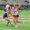 JIM VAIKNORAS/staff photo Newburyport's Molly Rose Kearney advances the ball against Lynnfield at World War Memorial Stadium in Newburyport Saturday.