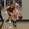 JIM VAIKNORAS/Staff photo  Newburyport's Meghan Winn advances the ball at Triton Friday night.