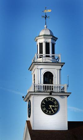 BRYAN EATON/Staff photo. The East Parish United Methodist Church in Salisbury Square.