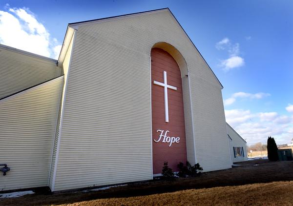 BRYAN EATON/Staff photo. The Hope Community Church on Hale Street in Newburyport.