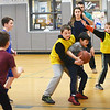 BRYAN EATON/Staff photo. The Celtics took on the Bulls in intramural basketball at Salisbury Elementary School on Tuesday afternoon. The different coed teams play every Monday and Tuesday at 3:00 p.m.