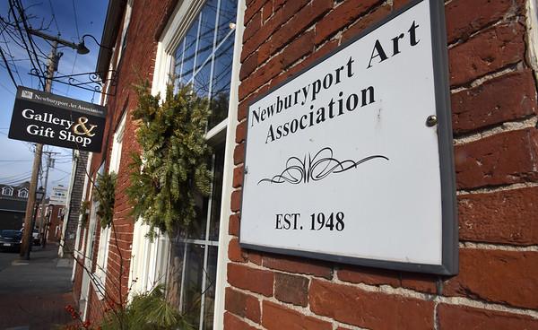BRYAN EATON/Staff photo. The Newburyport Art Association building on Water Street in Newburyport.