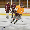 BRYAN EATON/Staff photo. Newburyport High hockey team in practice.