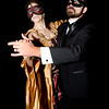 JIM VAIKNORAS/Staff photo Fontaine Dubious and Teddy Speck preview  A Midwinter Night's Masquerade Ball which will be held Feb 8th at Newburyport City Hall.