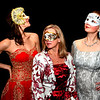 JIM VAIKNORAS/Staff photo Darleen Doyle, Jen Steeves and Nicole Duquette pose in costume as they prepare for  A Midwinter Night's Masquerade Ball which will be held Feb 8th at Newburyport City Hall.