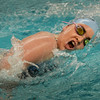BRYAN EATON/Staff photo. Caroline Cullen in the 500 freestyle.