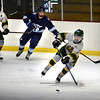 BRYAN EATON/Staff photo. Pentucket hosts Triton. Pentucket's Josh Smith breaks away with the puck.