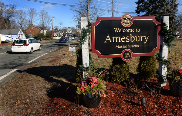 BRYAN EATON/Staff photo. Plans are in the works for Amesbury's 350th anniversary.