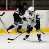 JIM VAIKNORAS/Staff photo Haverhill's Rebecca Harty  from North Andover makes a move during the game against Somerville at Veteran's Rink in Haverhill Saturday.