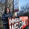 BRYAN EATON/Staff photo. Rev. Martha Hubbard of St. Paul's Episcopal Church in Newburyport and her congregation are welcoming to immigrants.