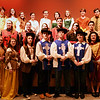 BRYAN EATON/Staff photo. Cast of the Amesbury High School production of the Three Musketeers.