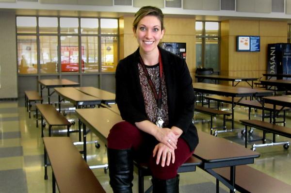 JIM SULLIVAN/Staff photo. Amesbury High School assistant principal Danielle Ricci.