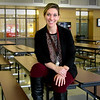 JIM SULLIVAN/Staff photo. Amesbury High School assistant principal Danielle Ricci.